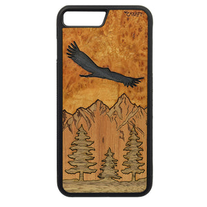 Carcasa Madera para iPhone 8 Plus - Los Andes