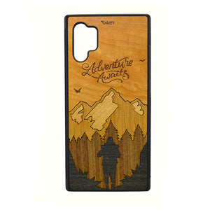 Carcasa Madera para Samsung Note 10 Plus - Adventure