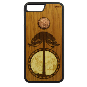 Carcasa Madera para iPhone 8 Plus - Araucanía