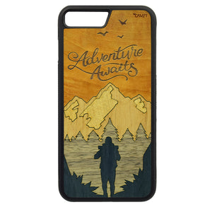 Carcasa Madera para iPhone 6 Plus / 6S Plus - Adventure