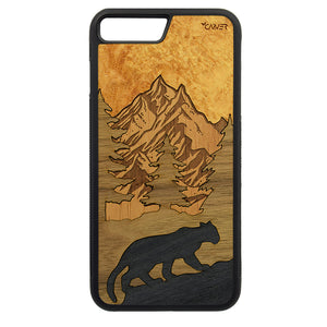 Carcasa Madera para iPhone 6 Plus / 6S Plus - Puma Chileno