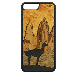 Carcasa Madera para iPhone 8 Plus - Torres del Paine