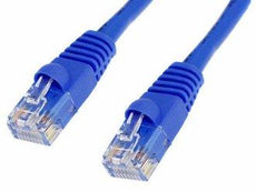 100 Pack Lot - 6ft Cat5e Cat5 Ethernet Network LAN Patch Cable Cord RJ45 - Blue