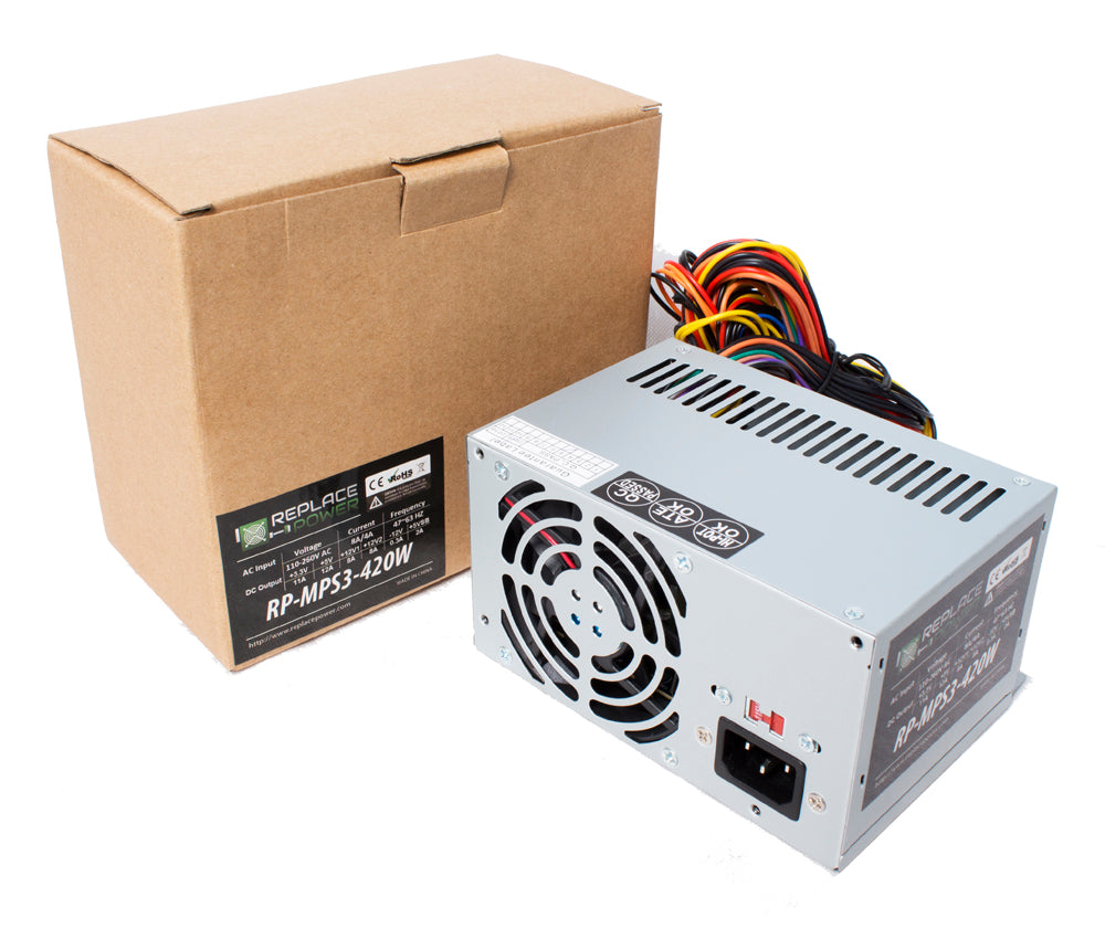 Power Supply for Dell Part ps-6351-1ds Replacement 400W