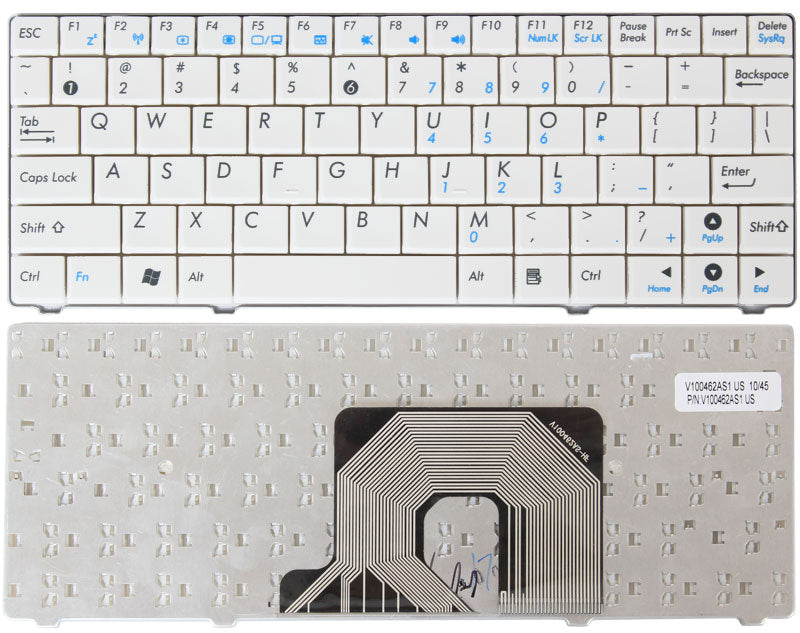 Asus V100462BS1 White Keyboard