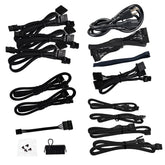 EVGA 750 G2 Power Supply Modular Cable Pack from Original Unit (No Molex or Floppy) Compatible with G2/G3/GP/PQ/P2/T2