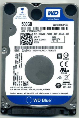 Compaq Presario CQ40-118AU Hard Drive 500GB Upgrade