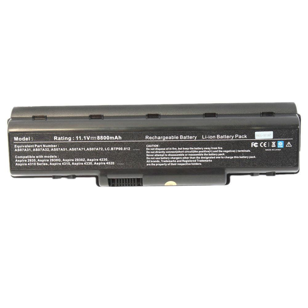 Acer Aspire 5738 Laptop Battery