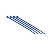 Monoprice Cable Tie 4 inch 18LBS, Blue (2 Packs of 100)
