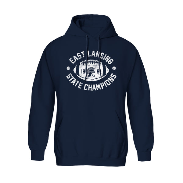 1991 East Lansing State Champions Hoodie