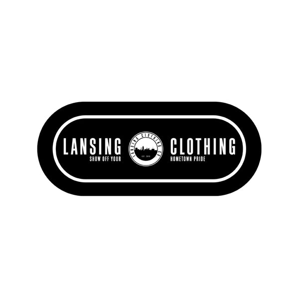 Lansing Clothing Co. (Bumper Sticker)