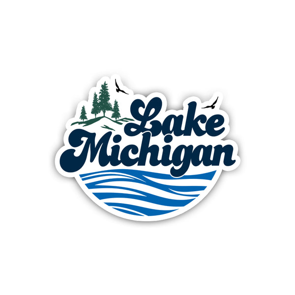 Lake Michigan (Sticker)