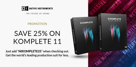 Native Instruments Komplete 11 Promotion