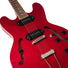 Heritage Standard H-530 Hollow Electric Guitar with Case, Trans Cherry