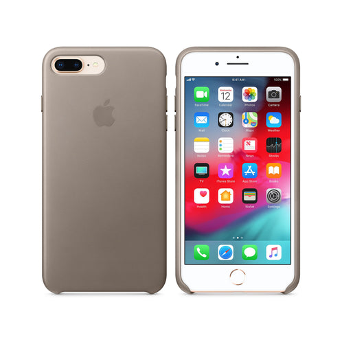 online retailer 8f503 40d75 Apple iPhone 8 Plus / 7 Plus Leather Case, Taupe – Swee Lee Singapore