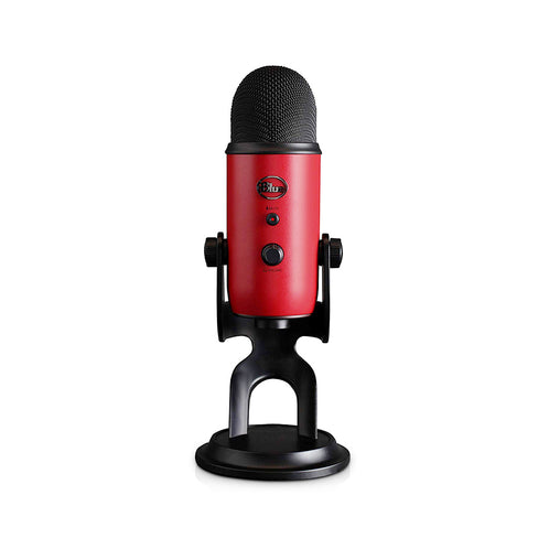 Blue Microphones Yeti USB Microphone, Satin Red
