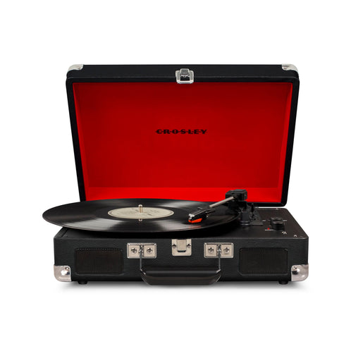 CR8005D-BL Blue Str Crosley Cruiser Portable 3-Speed Turntable with Bluetooth