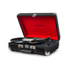 Crosley Cruiser Deluxe Portable Turntable, Black