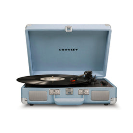 Crosley Cruiser Deluxe Portable Turntable, Tourmaline