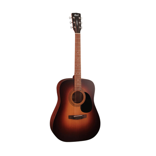 Cort AD810-SSB Acoustic Guitar w/Bag, Satin Sunburst