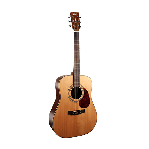 Cort EARTH70LH-OP Left-Handed Acoustic Guitar, Open Pore