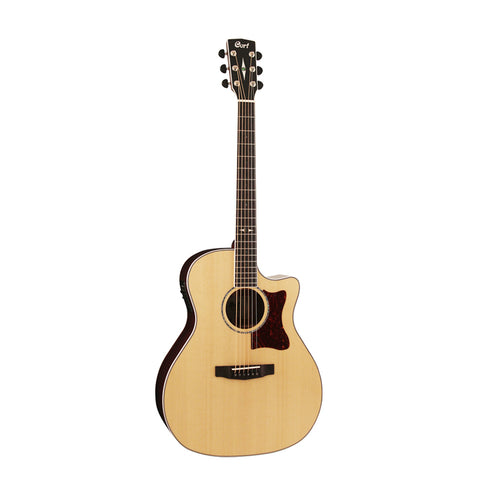 Cort GA5F-PF-NAT Acoustic Guitar, Natural