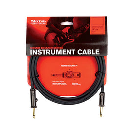 D'Addario PW-AGRA-20 Circuit Breaker Instrument Cable, Right Angle, 20 feet