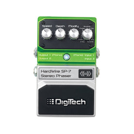 Digitech SP-7 Hardwire Stereo Phaser Guitar Effects Pedal