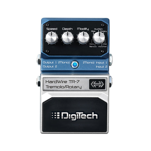 Digitech TR-7 Hardwire Tremolo/Rotary Guitar Effects Pedal