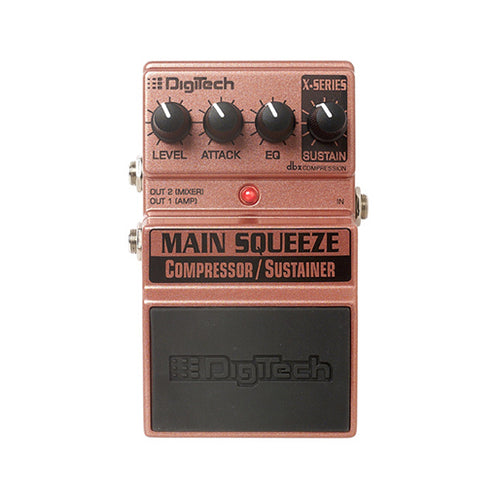 Digitech XMS Main Squeeze Compression Guitar Effects Pedal