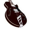 D'Angelico Premier SS Semi-Hollow Guitar w/Stairstep Tailpiece & Gig Bag, Trans Wine