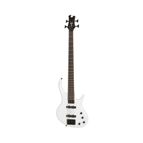 Epiphone Toby Standard-IV 4-String Bass Guitar, Alpine White