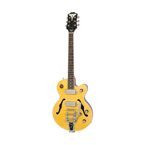Epiphone Wildkat Hollowbody Electric Guitar, RW Neck, Antique Natural