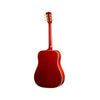 Gibson 2018 Hummingbird Vintage Acoustic Guitar w/Case, Cherry Burst