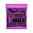 Ernie Ball Power Slinky 5-String Nickel Wound Electric Bass Strings, 50-135