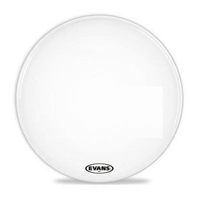 Evans BD22MX1W 22inch MX1 White - Marching Bass