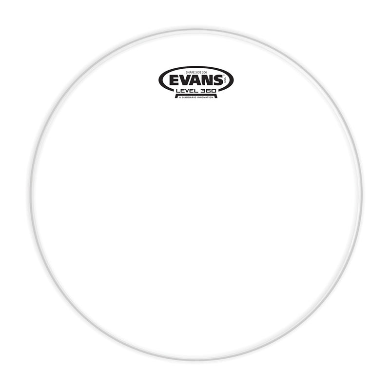 Evans S12H20 12inch Clear 200 - Snare Side