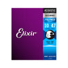 Elixir 11000 Polyweb 80/20 Bronze Acoustic Guitar Strings 10-47