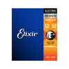 Elixir 12152 Nanoweb Heavy Electric Guitar Strings 12-52