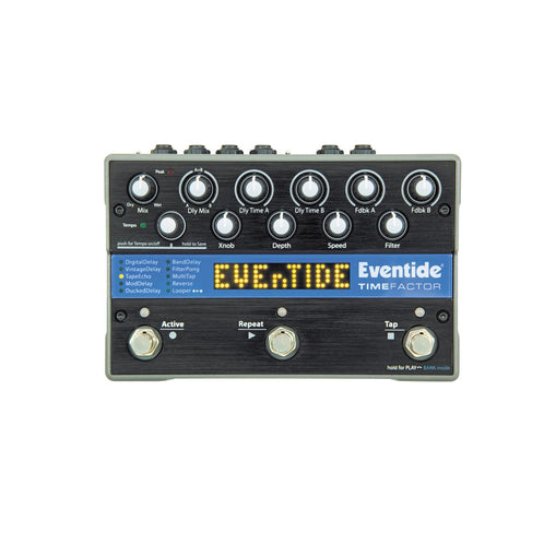 Eventide TimeFactor Twin Delay Guitar Effects Pedal, UK Plug