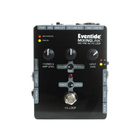 Eventide Mixing Link Mic Preamp with FX Loop Pedal, UK Plug