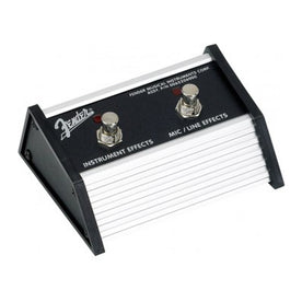 Fender Amplifier 2-Button Footswitch for Acoustasonic Jr DSP