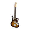 Fender American Original 60s Jaguar Electric Guitar, Rosewood FB, 3-Tone Sunburst