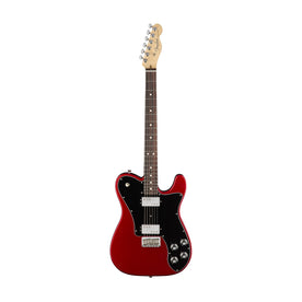 Fender American Professional Deluxe ShawBucker Telecaster Electric Guitar, RW FB, Candy Apple