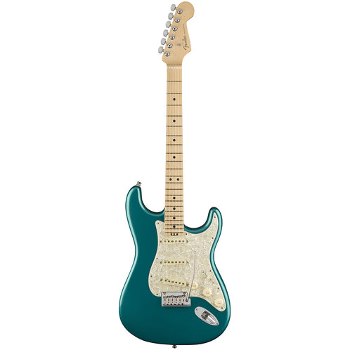 Fender American Elite Stratocaster Electric Guitar, Maple FB, Ocean Turquoise