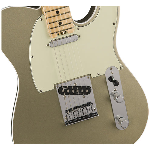 Fender American Elite Telecaster Electric Guitar, Maple FB, Champagne