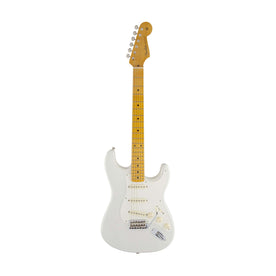 Fender Artist Eric Johnson Stratocaster Guitar, Maple Neck, White Blonde, w/Case