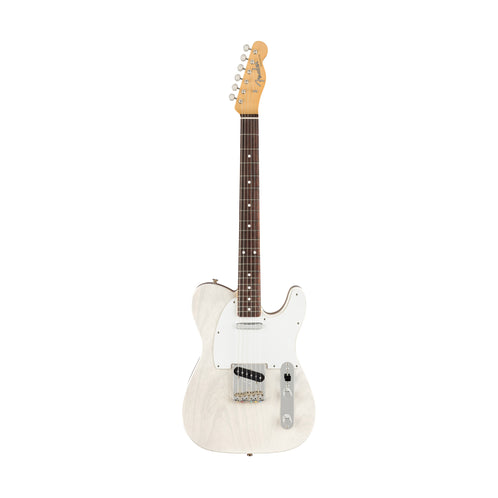 Fender Jimmy Page Mirror Telecaster Electric Guitar, RW FB, White Blonde