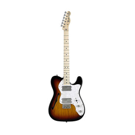 Fender Classic Series 72 Telecaster Thinline Guitar, Maple Neck, 3-Tone Sunburst