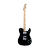 Fender Classic Series 72 Telecaster Custom Guitar, Maple Neck, Black, w/Gigbag